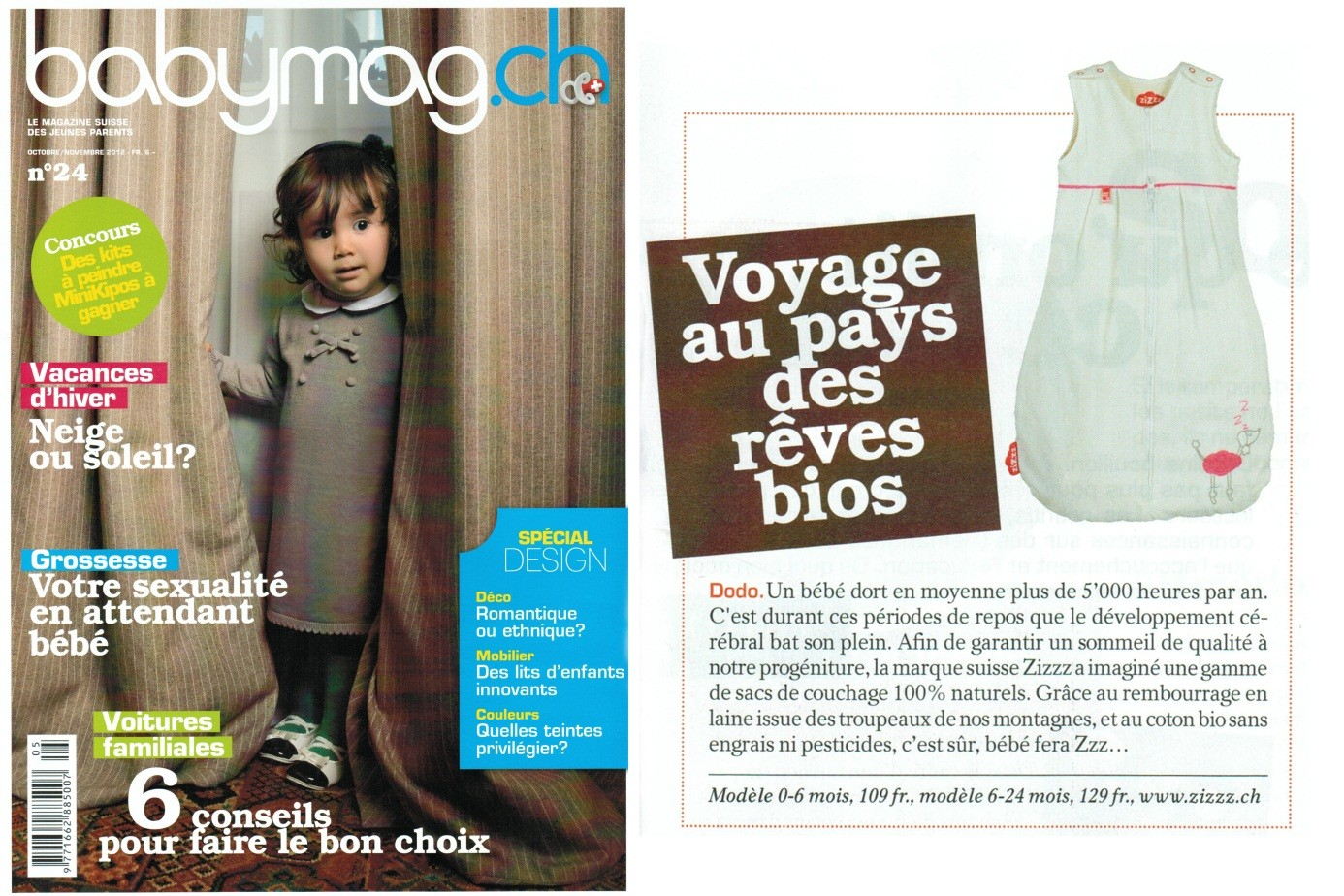 Babymag Article