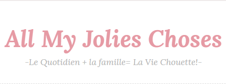 Logo All my jolies choses